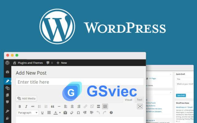 Đăng bài viết lên web WordPress